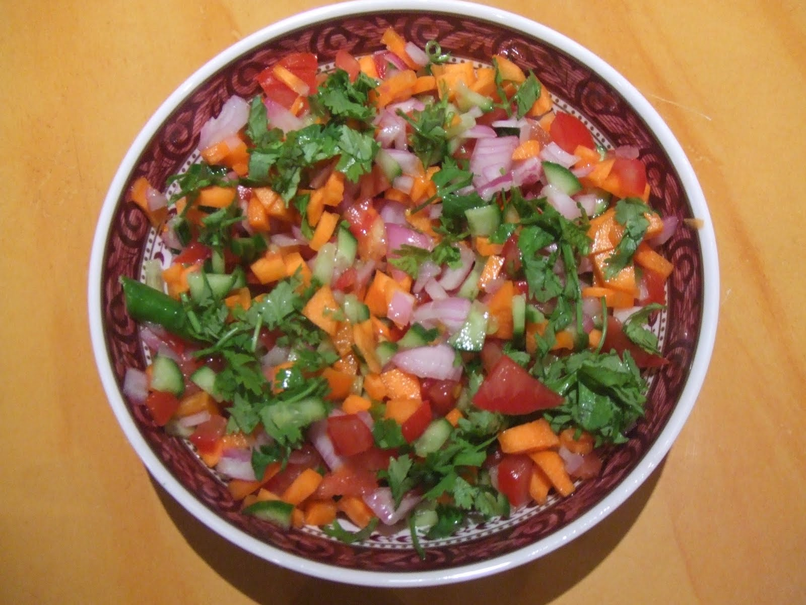 Kachumber Salad Recipe Indian Food Recipes