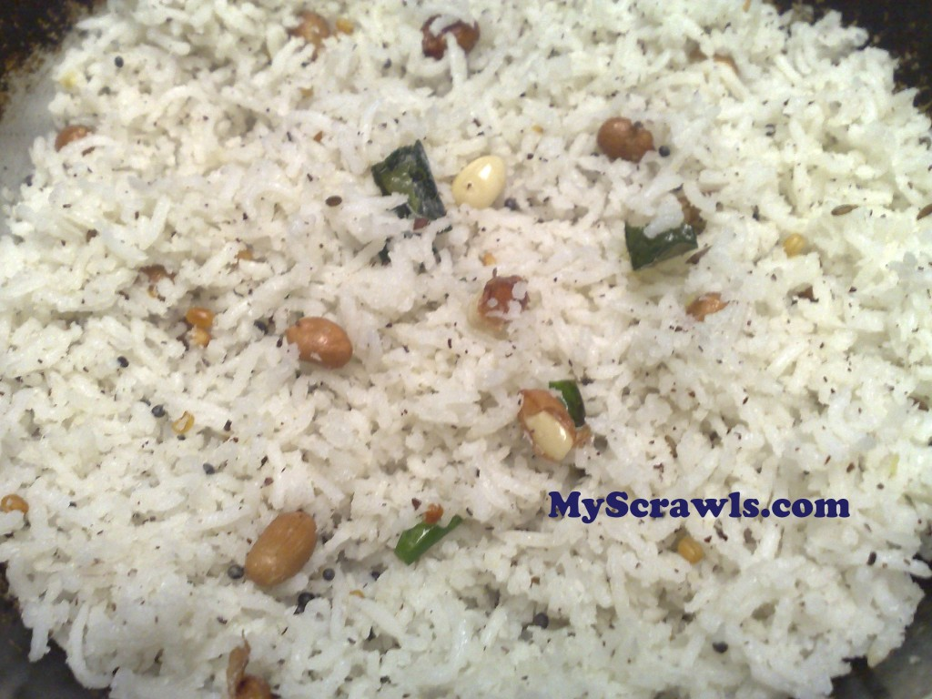 COCONUT RICE RECIPE | Indian Food Recipes