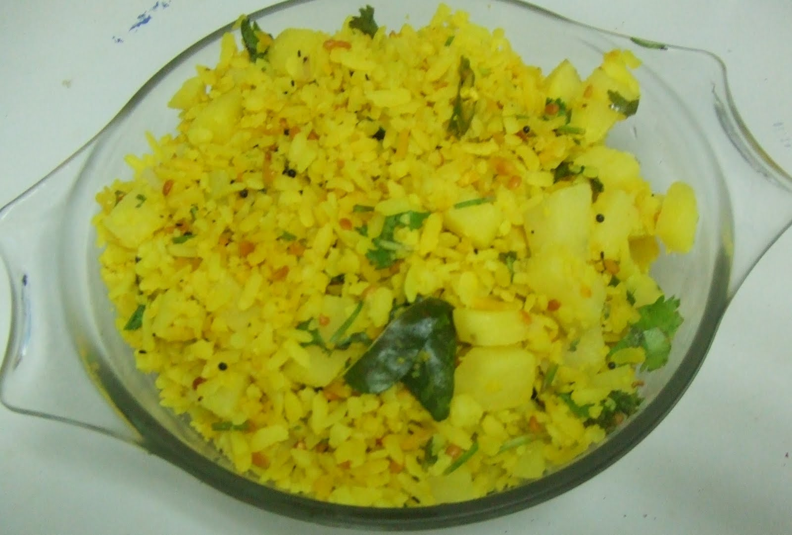 Download this Aloo Poha Recipe picture