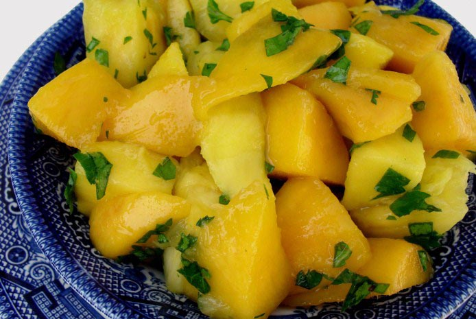 Pineapple Mango Salad Recipe | Indian Food Recipes