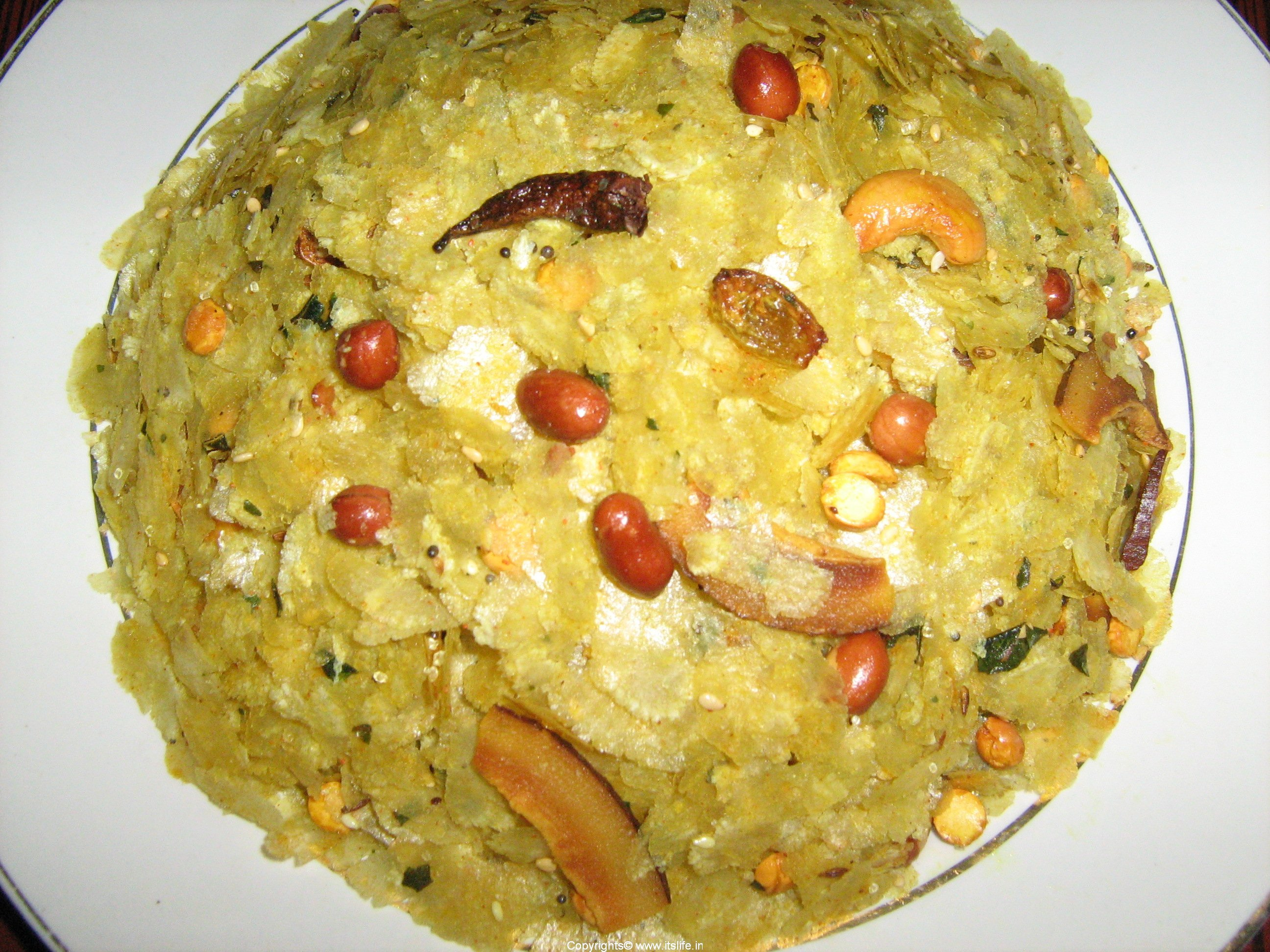 Download this Recipe Snacks Avalakki... picture